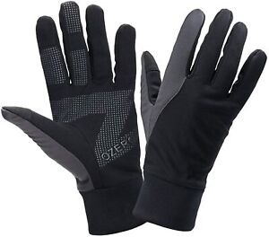 OZERO Winter Gloves Touch Screen Windproof and Water Resistant Thermal Gloves