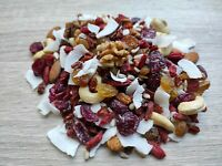 Unsalted & Raw SuperFood Blend Breakfast Mix | Healthy Nuts & Berries