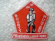 Patch- 191st Bounty Hunter for A Few Dollards More Patch (New*apx. 75x70 mm)
