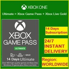 Xbox Game Pass Ultimate 14 Days + XBOX LIVE GOLD -(Xbox One)- Instant Delivery