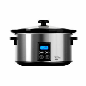 Wahl ZX929 - James Martin Slow Cooker with  4.7L Capacity and Keep Warm Function