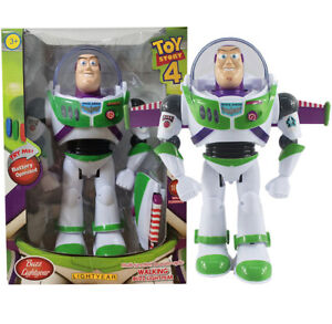 TOY STORY 4 BUZZ LIGHTYEAR TALKING ACTION FIGURE LIGHT SOUNDS ROBOT TOY AU
