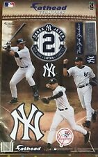 DEREK JETER YANKEES CAPTAIN FATHEAD TEAMMATES RETIREMENT Wall Graphics 9 Decals