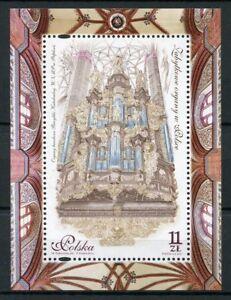 Poland 2017 MNH Antique Historic Organs 1v M/S Music Stamps
