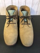 Cole Haan LunarGrand Suede Chukka Ankle Boots Tan Suede 9M