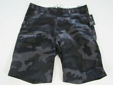 Fox Motorcross MX Racing Essex Camo 2.0 Shorts Black Mens Size 32 Fast Ship