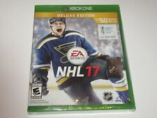 NHL 17: Deluxe Edition (Microsoft Xbox One, 2016) NEW