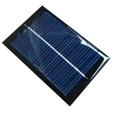 6V 100mA 0.6W Mini Epoxy Solar Panel Photovoltaic Polycrystalline Cell Charger N