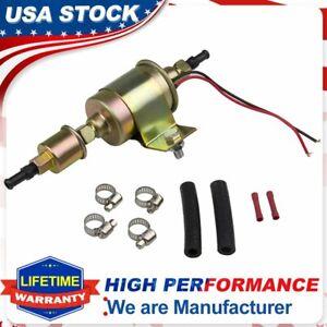 12V Universal Electric E8012S Fuel Pump Carburetor 5-9 PSI Car Trucks Tractor US