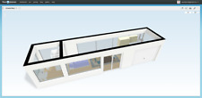 Prefab Home Container Cottage Cabin Startup Small Housing House Hotel 40FT 260sf