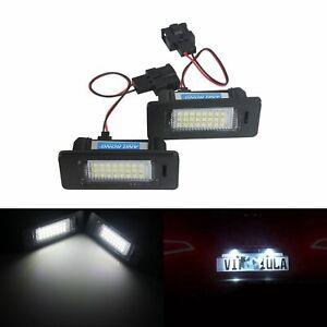 Für Audi Q3 Q5 A1 8X A3 A4 A5 A6 A7 TT LED Kennzeichenbeleuchtung Leuchte Canbus