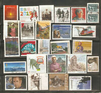 a stock page of recent used stamps from Canada.(C-82)