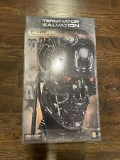 Terminator Salvation Sideshow Statue T-700 Sealed life size bust