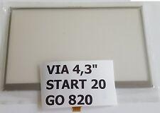 VITRE ECRAN TACTILE  GPS TOMTOM VIA 110 VIA  120  VIA 130 START 40  touch screen
