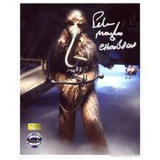 Peter Mayhew Autographed Star Wars Episode V Chewbacca Mynock Hunt 8×10 Photo
