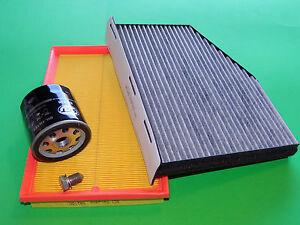 Ölfilter Luftfilter Pollenfilter VW Caddy (2K) 1.4 (55kW/75PS) MKB: BCA