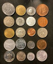 Coins of the World Lot - 20 Different Nations - Free Ship - Lot #J29