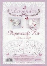 Flowersoft Toppers - Lavender Papercraft Kit