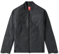 Nike Sportswear Aeroloft Men's Bomber Black Tech Fleece (863726-010) Size L