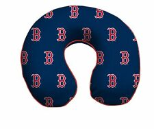 BOSTON RED SOX MEMORY FOAM TRAVEL NECK PILLOW RELAXATION PLUSH FREE SHIPPING!