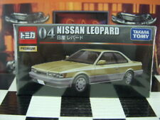 TOMICA PREMIUM #04 NISSAN LEOPARD 1/63 SCALE NEW IN BOX