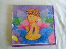 Luncheon Party Napkins FAIRY PRINCESS 16 ct 2 Ply 18612