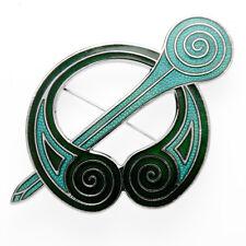 Broche Broche Celta Vikingo Broche Vikingo Bañado En Plata Celta Vikingo Broche