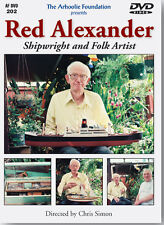 Red Alexander region 1 DVD Shipwright & Folk artist, documentary by Chris Simon