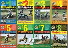 Motocross Skills Techniques all 8 DVD Value Pack of Volume 3 by Gary Semics