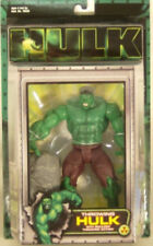 Hulk Movie Marvel 2003 Throwing Hulk With Boulder Throwing Action Toy Biz (MOC)