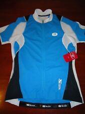 SUGOI RS Jersey Womens Medium Cycling Wicks Road Pro Mountain Bike Laguna Blue