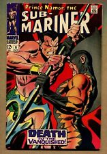 Sub-Mariner #6 ~ Death To The Vanquished ~ 1968 (7.5) WH