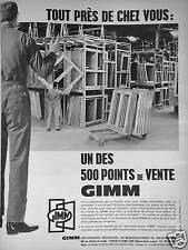 PUBLICITE GIMM TOUT PRÈS DE CHEZ VOUS UN DES POINTS DE VENTE SUR 500 EN FRANCE