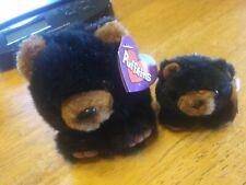 Puffkins benny the bear with Honey the Bear keychain
