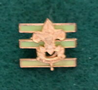 VINTAGE  BOY SCOUT  - JUNIOR ASSISTANT SCOUTMASTER PIN BACK PIN - SMALL