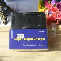 Rapid Charger For NP-F960 NP-F970 NP-F950 NP-F770 NP-F750 NP-F550 NP-F570