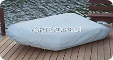 NEW GREY VORTEX HEAVY DUTY 8 1/2 FT INFLATABLE BOAT COVER, FAST FREE SHIPPING