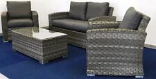 Markenlose Garten-Tische & Stuhl-Sets aus Rattan