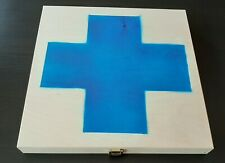 Laibach Wooden Box‎ - Blue Cross - 3 CDr 1 LP and more Ltd to 5 different copies