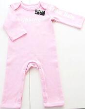 Einteiler Gr.62 /68 Tribal NEU 100% Baumwolle rosa strampler baby