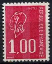 France 1971-6 SG#1905d, 1f Cerise Marianne Recess Definitive Phosphor #D64781