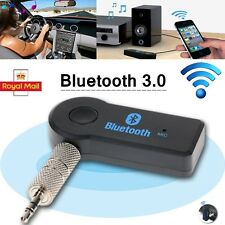 Wireless 3.5Mm Aux Audio Stereo Home Car Music Receiver Adapter W/ Mic Bluetooth