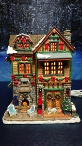 LEMAX The Brodie Residence, Porzellanhaus, LED, Weihnachtsdorf, Winterdorf