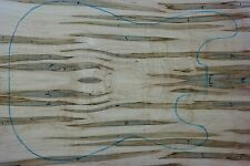 Tonewood Ambrosia Maple Top 301124 bookmatched tonholz topset Guitar set Arce