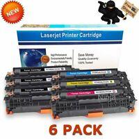 6PK CF380A 312A Toner for HP Color Laserjet Pro MFP M476dn M476dw M476nw Printer