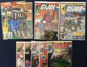 GI Joe Comic Book Lot W/ Transformers - Marvel