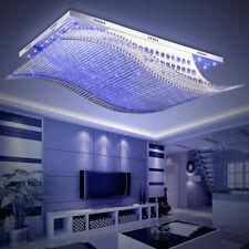 Modern Ceiling Light LED Lamp Living Bedroom Crystal Pendant Lamp 30W Chandelier