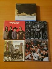 WEEZER Excellent Lot of 5 100% COMPLETE Vintage Albums on CD! CLEAN!