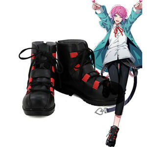 Anime Division Rap Battle Amemura Ramuda Cosplay Shoes Hypnosis Mic Boots Custom