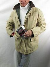 Hunt  Polo Ralph Lauren Cotton Blend Khaki Jacket Coat Quilt Lined Mens L  NYZ18